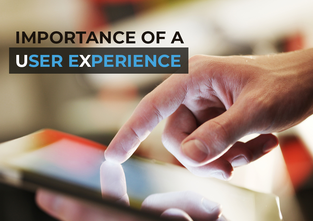 The importance of a user experience for software apps and website.